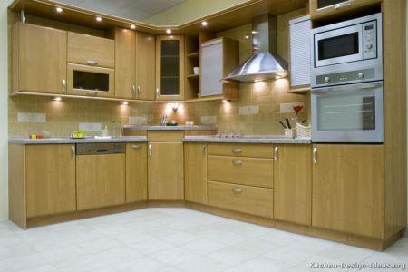 kitchen cabinets modern light wood 044 s13633852 corner sink