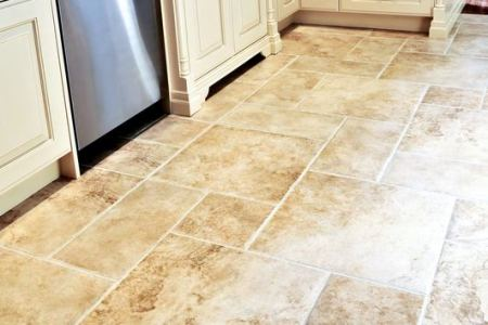 kitchen cabinets traditional antique white 002 s39786067x2 peninsula travertine tile luxury