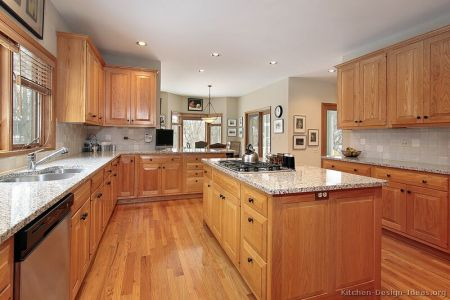 kitchen cabinets traditional light wood 091 s27582283 island