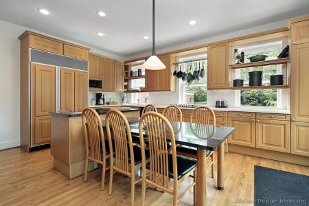 kitchen cabinets traditional light wood 099 s27777409 island