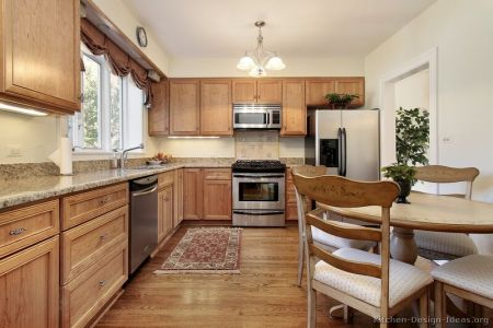 kitchen cabinets traditional light wood 110 s30977413