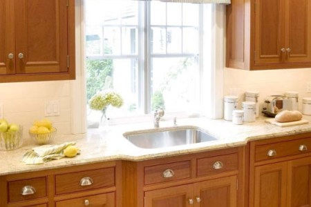 kitchen cabinets traditional light wood 125 cp011b angled fluted sink outset wood floor