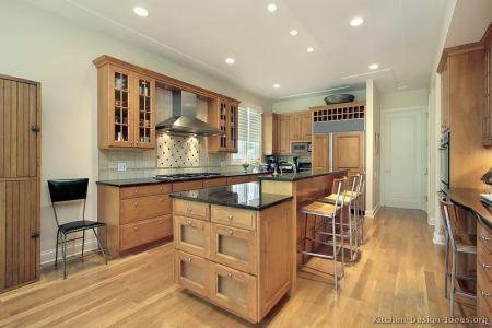 kitchen cabinets traditional light wood 151a s49407055x2 island seating bar splash floor