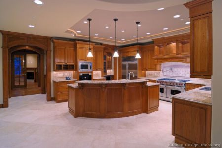 kitchen cabinets traditional medium wood golden brown 001a s7088401 wood hood island luxury