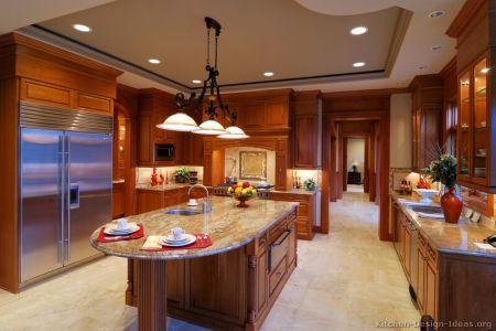 kitchen cabinets traditional medium wood golden brown 003a s5511391 wood hood island luxury