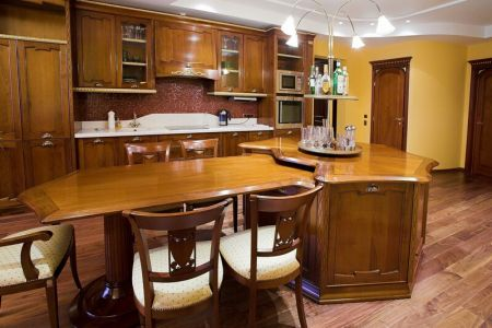 kitchen cabinets traditional medium wood golden brown 017a s3259159 luxury island wood hood