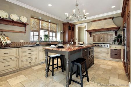 kitchen cabinets traditional two tone 102 s30015697 antique white wood hood island luxury
