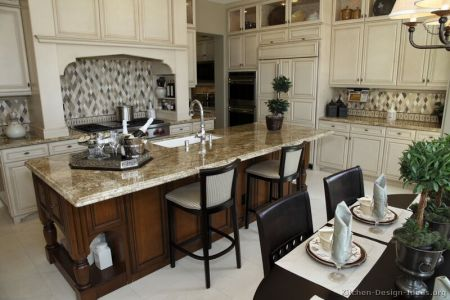 kitchen cabinets traditional two tone 105 s30656710 antique white wood hood island luxury