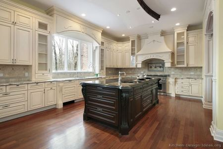 kitchen cabinets traditional two tone 179 s32038705x2 antique white dark wood hood luxury