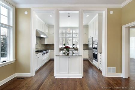 kitchen cabinets traditional white 148 s33720116x2 island posts wood floor luxury