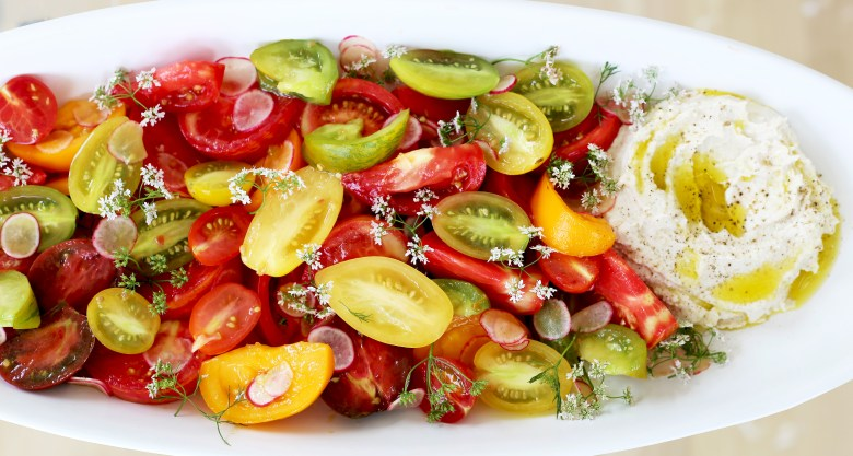 heirloom-tomatoes-cashew-ricotta-2