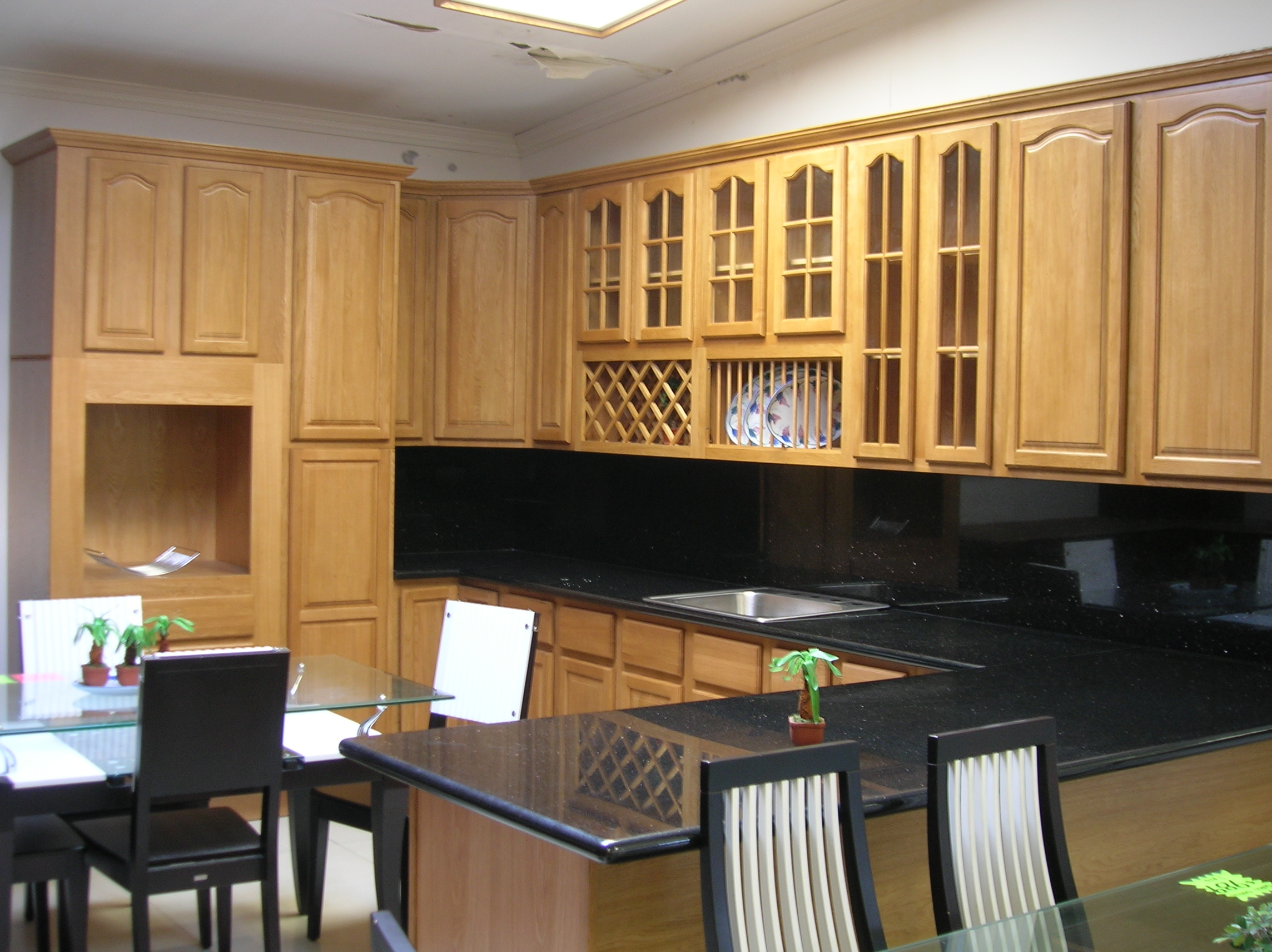 allcabinets affordable kitchen cabinets Oak Cherry Wholesale Kitchen Cabinets