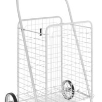 Whitmor 6023-149 Rolling Utility Cart, White