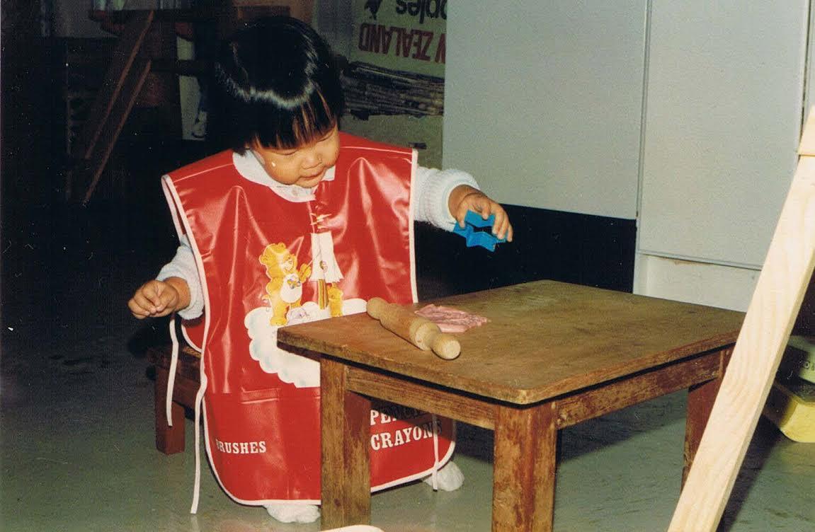 Kim Choe baking