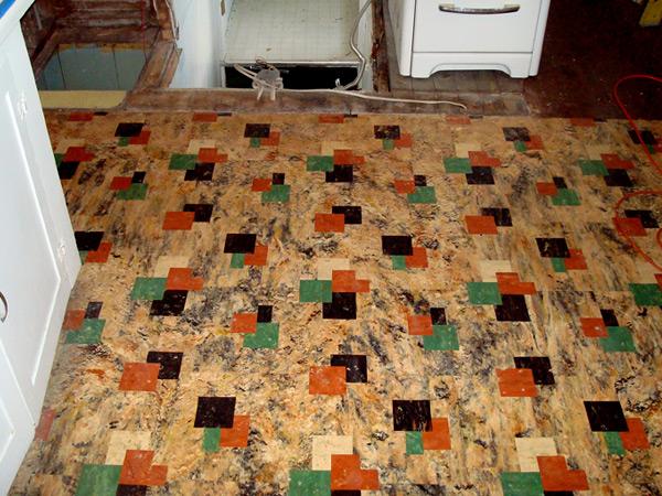 Linoleum Kitchen Floors