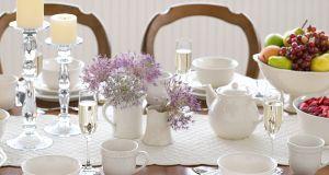 white-dinnerware