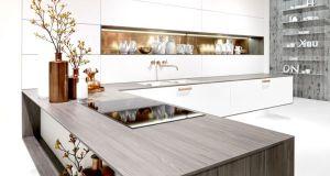 Kitchen copper  interior design 1