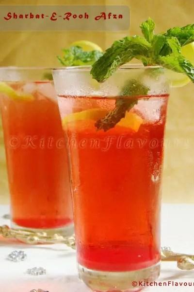 Sharbat-E-Rooh Afza – Easy Summer Drink
