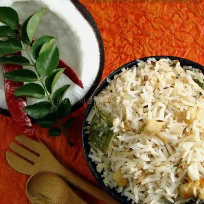 Coconut Rice With An Afternoon To Remember