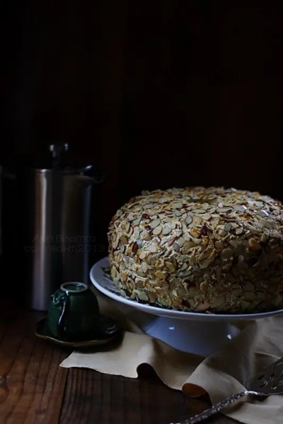 {Ramadan Special} – Guest Post: Gluten-Free Coffee and Walnut Chiffon Cake from Arfi of Homemades