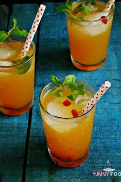 Mango Honey Iced Tea