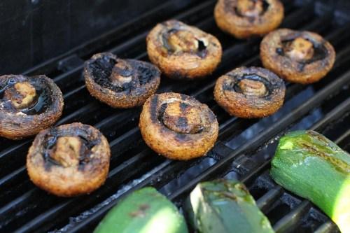 Medium Of How To Grill Mushrooms