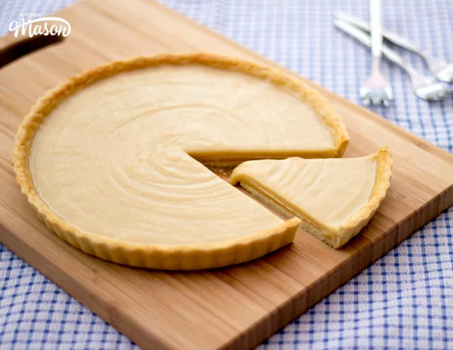 The Best Old School Butterscotch Tart