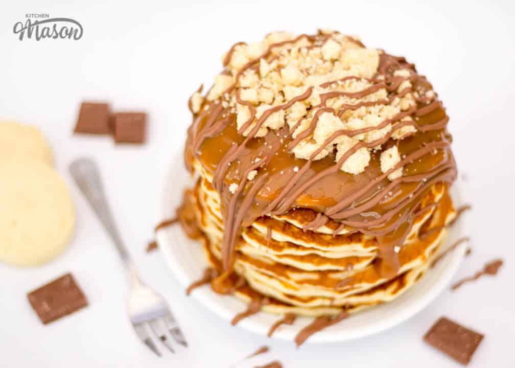 The Best Millionaire's Shortbread Pancakes