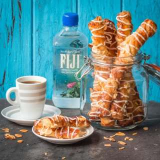 Flaky Almond Croissant Twists