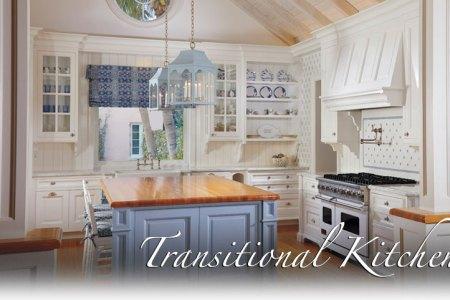 slide transitional kitchen