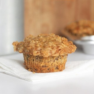 The Best Banana Streusel Muffins