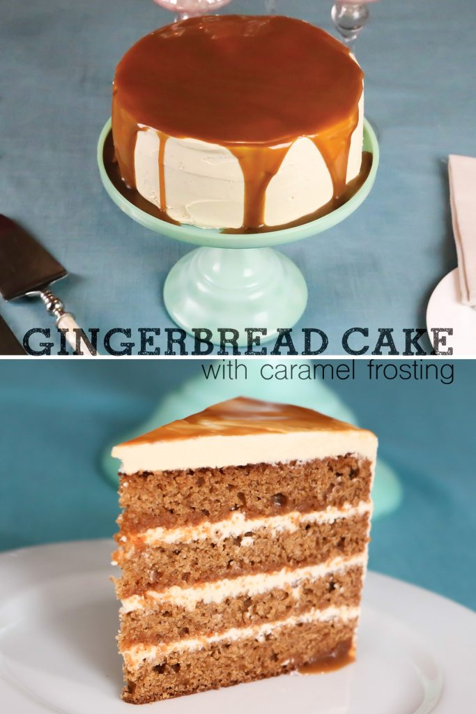 Gingerbread Layer Cake Recipe