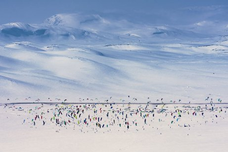 Red Bull Ragnarok 2016 snowkiting event kiteworld magazine