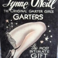 The Original Garter Girl's Estate Shows Something More Shocking Than Lingerie
