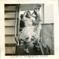 Vintage Crossdressing On A Cruise