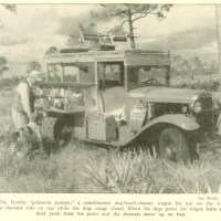 "Vintage ""Palmetto Jumper"" Hunting Vehicle"