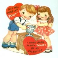 """Here's A """"Sharp"""" Vintage Valentine"""