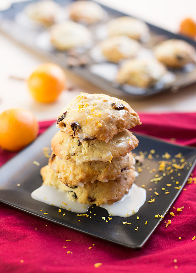 Cranberry Almond Protein Scones