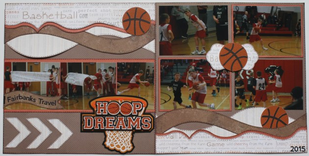 hoop dreams - basketball layout (sports)