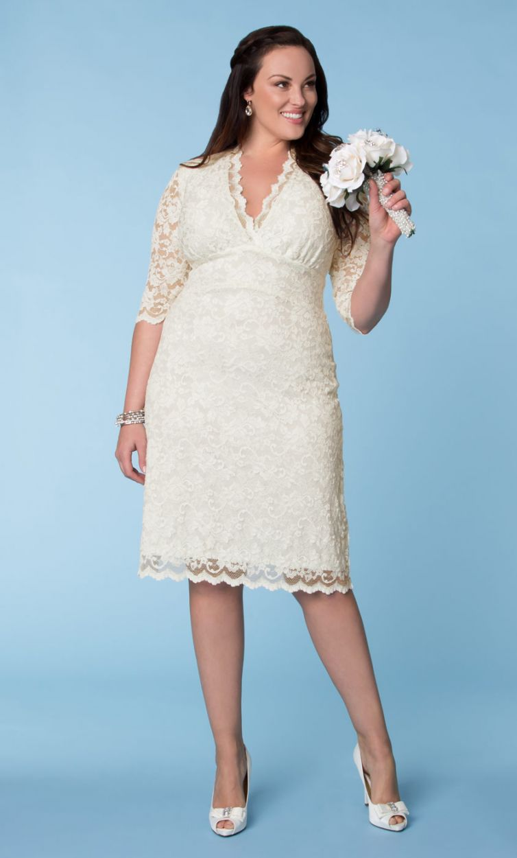 budget friendly plus size wedding gowns kohls wedding dresses Budget Friendly Plus Size Wedding Gowns