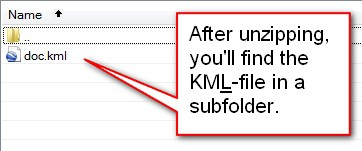 how to make kml file