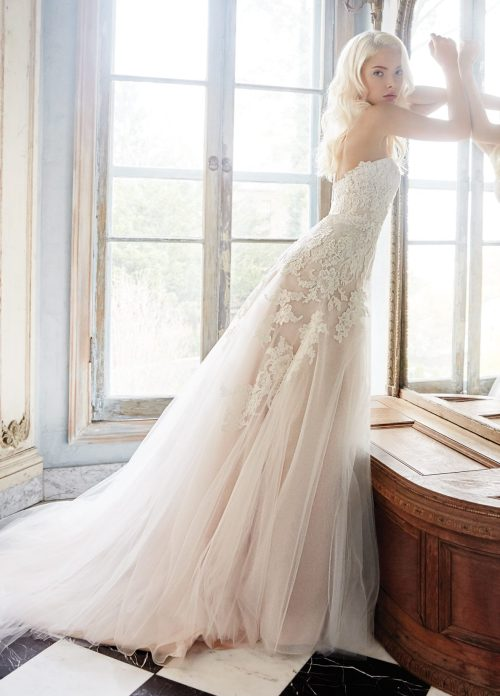 Medium Of Aline Wedding Dress