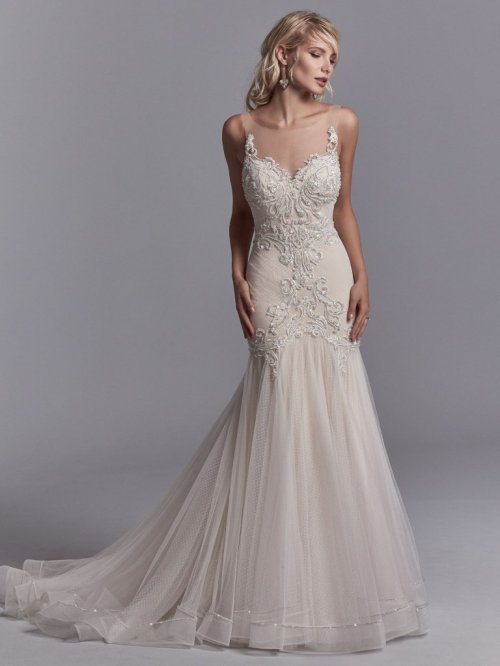 Medium Of Sweetheart Neckline Wedding Dress