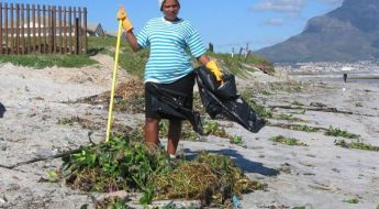 jūros augalų valytoja