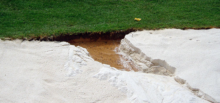Bunkers are quickly back in play