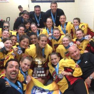 Midget Girls Win Gold at Provincials