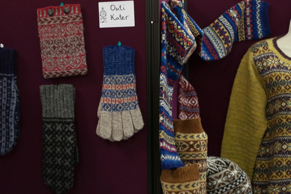 Outi Kater's Glorious Fair Isle Knitting