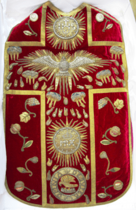 The Red Pentecost Chasuble