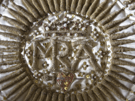 Detail of the Lady Wintour White Chasuble, c.1660