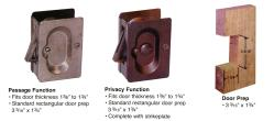 Irresistible Notch Prep Pocket Door Pulls Pocket Door Hardware By Emtek Emtek Pocket Door Hardware Installation Emtek Pocket Door Hardware Installation Instructions